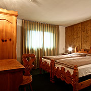 single bedroom interior design, Hotel Loredana